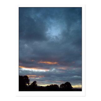 Cartão Postal Nuvens do por do sol ò, 5o Sept