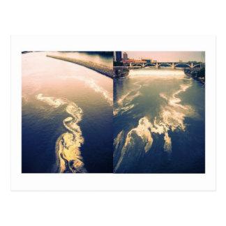 Cartão Postal nuvens do rio