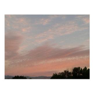 Cartão Postal Nuvens estranhas 2