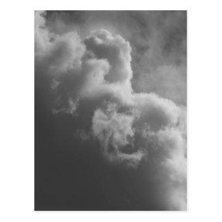 Cartão Postal Nuvens tormentosos