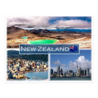 Cartão Postal NZ Nova Zelândia -