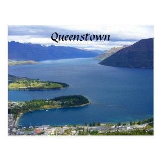 Cartão Postal nz queenstown