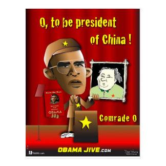 Cartão Postal O a ser presidente de China