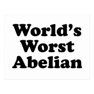 Cartão Postal O Abelian o mais mau do mundo