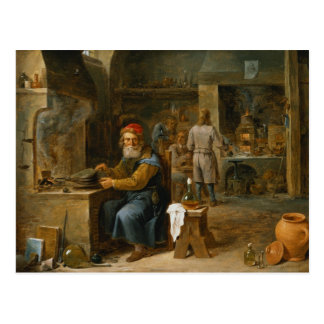 Cartão Postal O alquimista