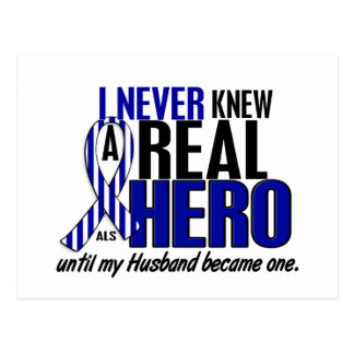 Cartão Postal O ALS nunca conheceu um marido do herói 2