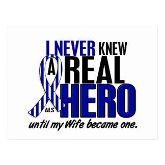 Cartão Postal O ALS nunca conheceu uma esposa do herói 2