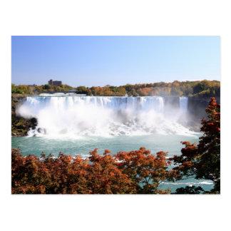 Cartão Postal O americano cai em Niagara Falls
