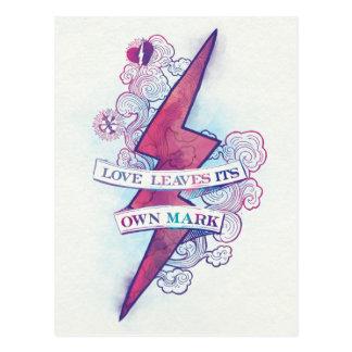 Cartão Postal O amor do período | de Harry Potter deixa sua