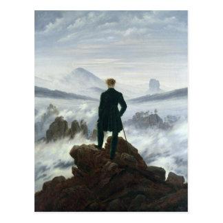 Cartão Postal O andarilho acima do mar da névoa, 1818