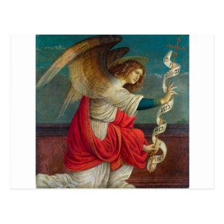 Cartão Postal O anjo Gabriel - Gaudenzio Ferrari