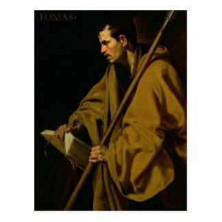 Cartão Postal O apóstolo St Thomas, c.1619-20