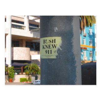 """Cartão Postal o """"arbusto soube… """""""