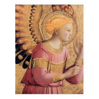 Cartão Postal O arcanjo Gabriel do Fra Angelico- Annunciate