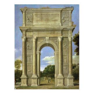 Cartão Postal O arco de Triumph