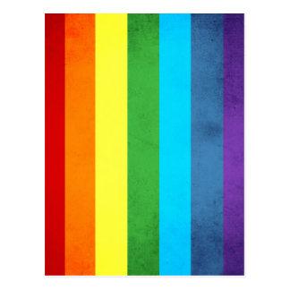 Cartão Postal O arco-íris arfa o unicórnio