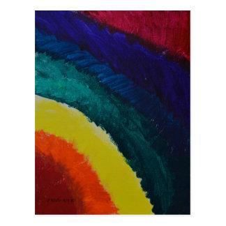 Cartão Postal O arco-íris de Claire