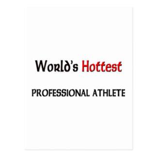 Cartão Postal O atleta profissional o mais quente dos mundos