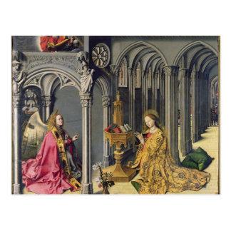Cartão Postal O aviso, c.1445