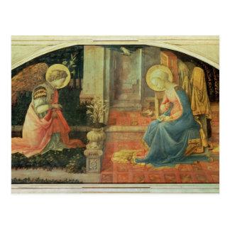 Cartão Postal O aviso, c.1450-3