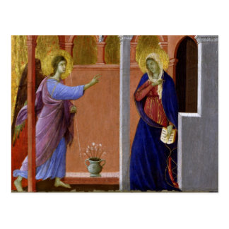 Cartão Postal O aviso de Duccio