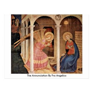 Cartão Postal O aviso por Fra Angelico