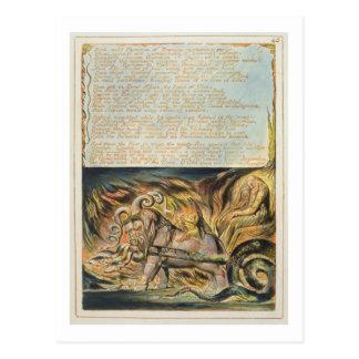 """Cartão Postal O """"banho, médico suave…"""", chapeia 46 'de Jerusale"""