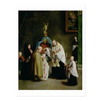 Cartão Postal O baptismo