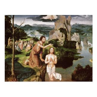 Cartão Postal O baptismo do cristo, c.1515