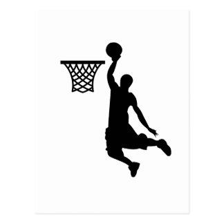 Cartão Postal O basquetebol é grandes esportes