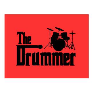 Cartão Postal O baterista