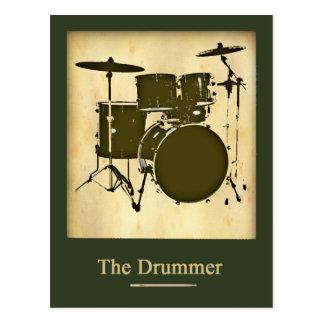 Cartão Postal o baterista da banda