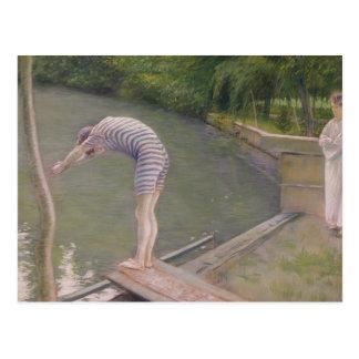 Cartão Postal O Bather, ou o mergulhador, 1877