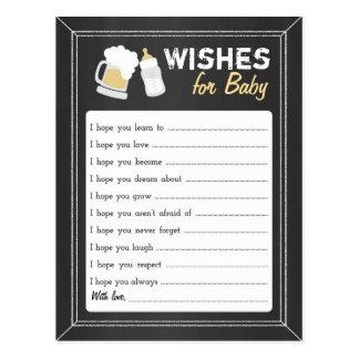 """Cartão Postal O """"bebê está fabricando cerveja"""" desejos"""