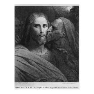 Cartão Postal O beijo de Judas 2