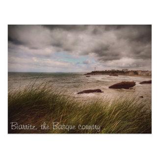 Cartão Postal O Biarritz romântico