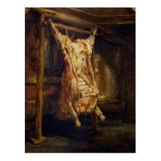Cartão Postal O boi Slaughtered, 1655