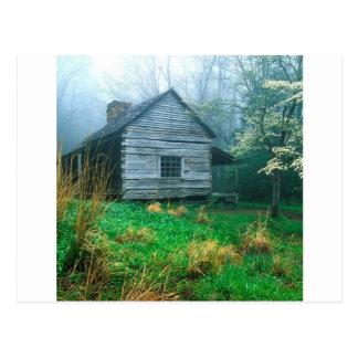 Cartão Postal O botão da montanha Ogles Tennessee fumarento