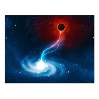 Cartão Postal O buraco negro
