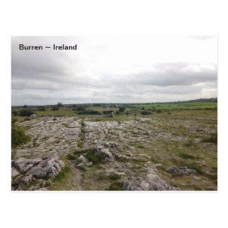 Cartão Postal O Burren, Co. Clare, Ireland.