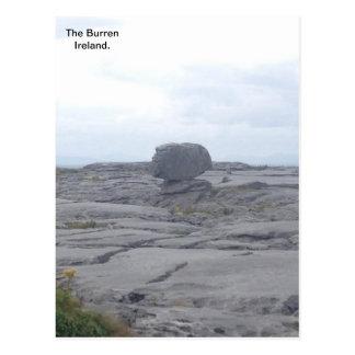 Cartão Postal O Burren, Co. Clare, Ireland A