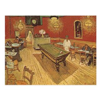 Cartão Postal O café da noite por Vincent van Gogh