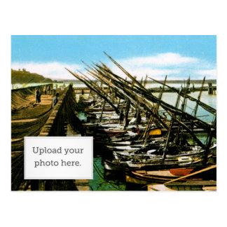 Cartão Postal O cais 1 do pescador