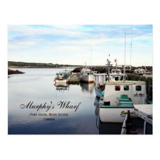 Cartão Postal O cais de Murphy