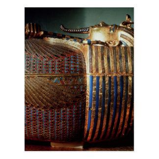Cartão Postal O caixão mais íntimo de Tutankhamun