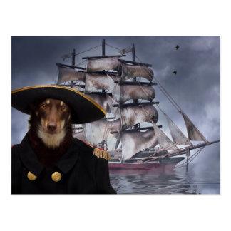 Cartão Postal O capitão