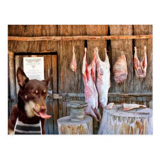Cartão Postal O carniceiro
