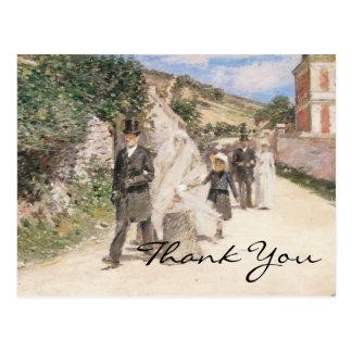 Cartão Postal O casamento março de Robinson