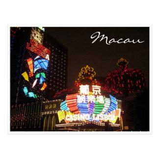 Cartão Postal o casino ilumina Lisboa