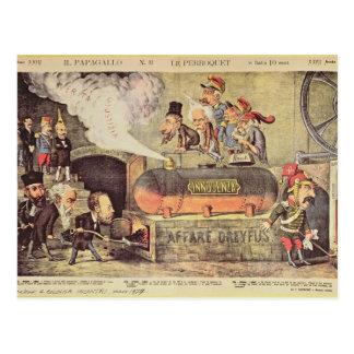 Cartão Postal O caso de Dreyfus